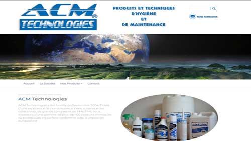 Site catalogue ACM Technologies