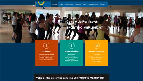 Site sporting club Merlimont